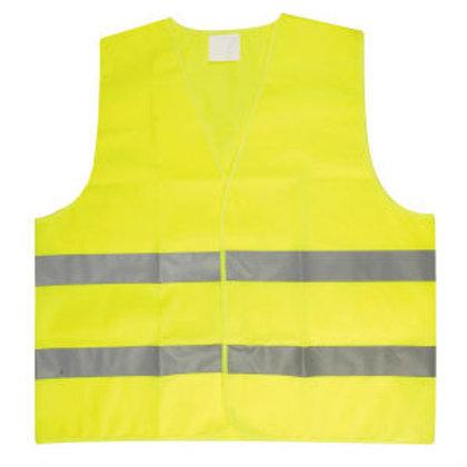אפוד בטיחות זוהר צהוב