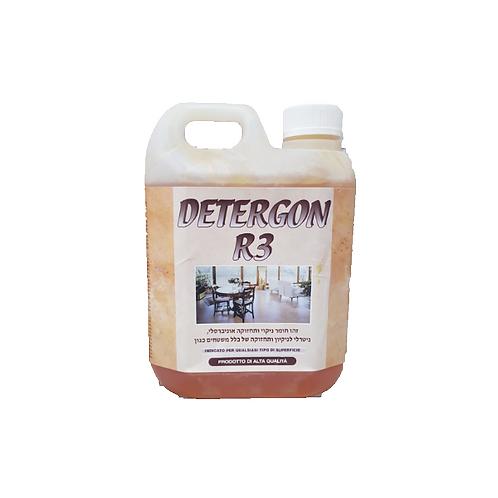 """חומר ניקוי כללי 1 ק""""ג DETERGON R3"""