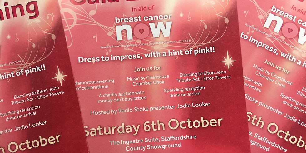 Chanteuse 10th Anniversary Gala Evening for Breast Cancer Now