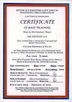 20020816 - Forklift License-1
