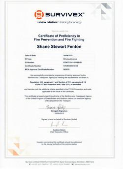 20150925 - STCW Fire Prevention & Fire F