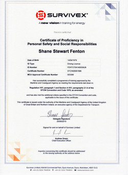 20150925 - STCW Personal Safety & Social