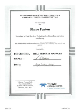 20080902 - Corrosion Competency Certific