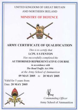 20050520 - Explosives Authorised Rep-1