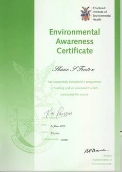 HSE Environmental Awareness