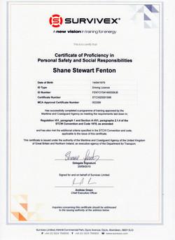 STCW Personal Safety & Social Responsibi