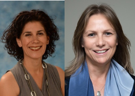 Project leaders Dr. Yifat Reuveni (left) and Dr. Vered Holtzman (right)