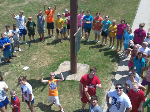 Sr. High Student Mission Trip to Camp Gideon