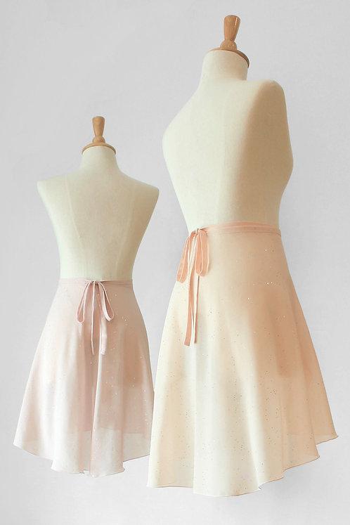 Glitter Medium Wrap Skirt