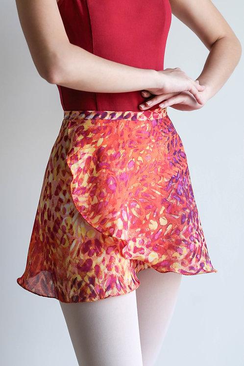 Tribal Wrap Skirt