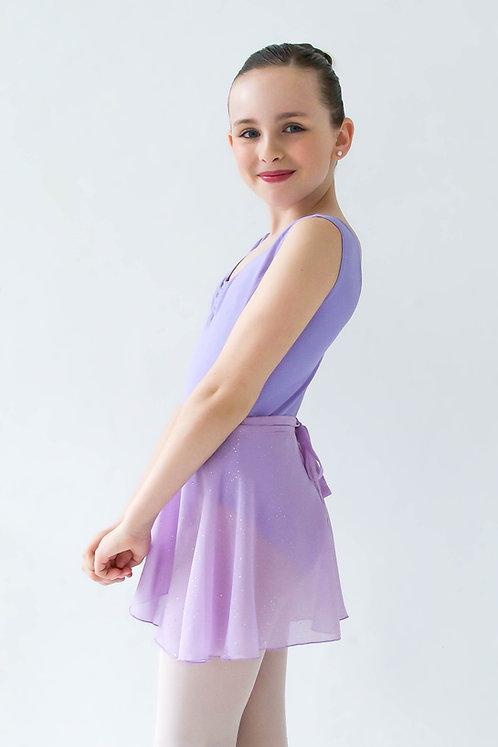 Kids Glitter Wrap Skirt