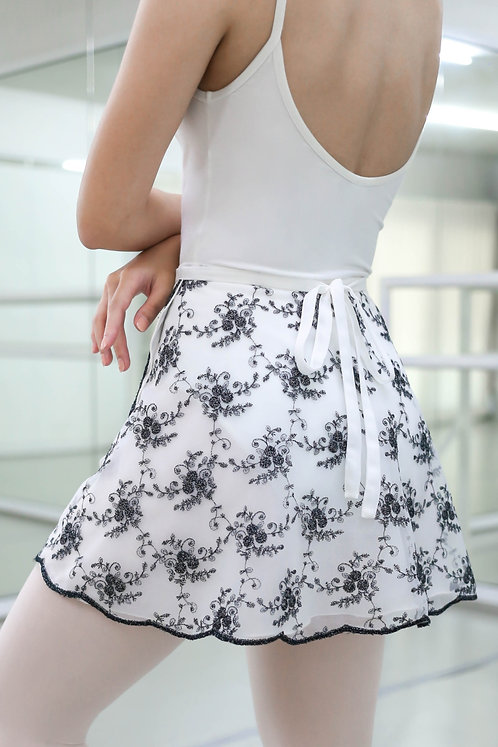 Rose Duo Wrap Skirts