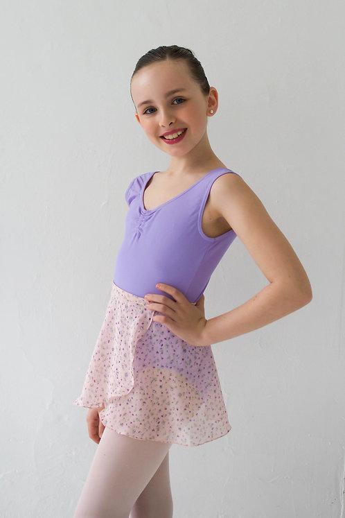 Sweet Flowers Kids Wrap Skirt