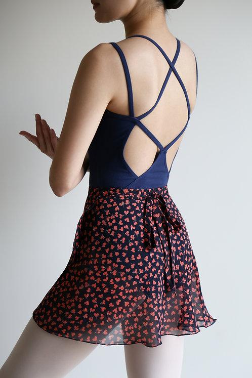 Hearts Wrap Skirt