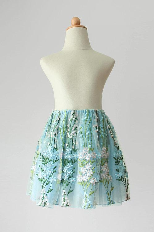 Flower Garden Pull On Skirt