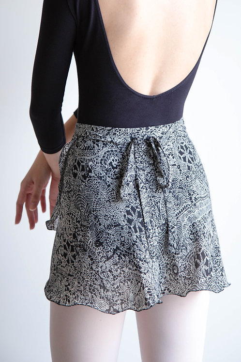 Doily Wrap Skirt