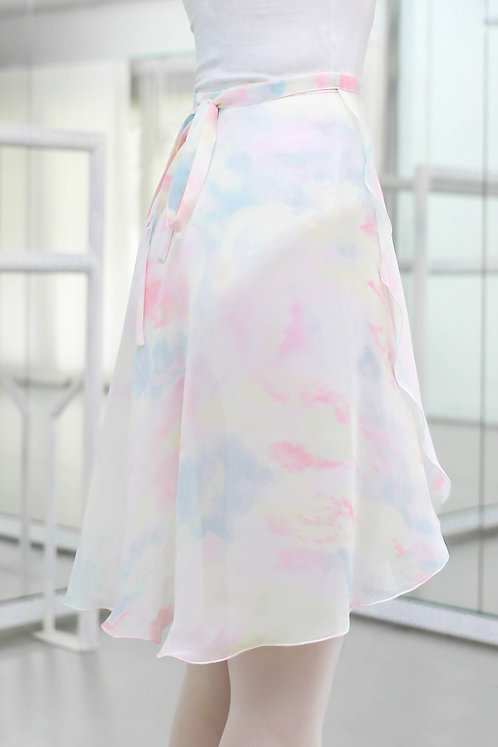 Pastel Marble Rehearsal Skirt