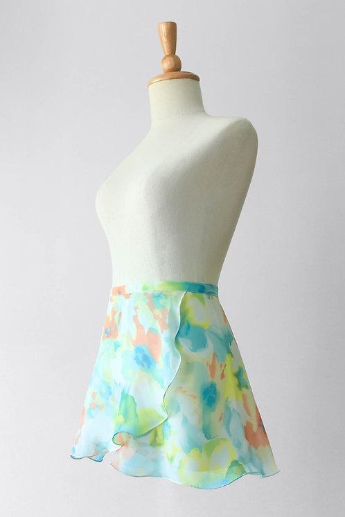 Summer Blossoms Wrap Skirt