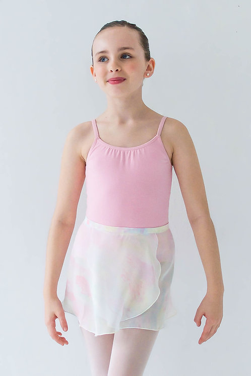 Pastel Rainbow Kids Wrap Skirt
