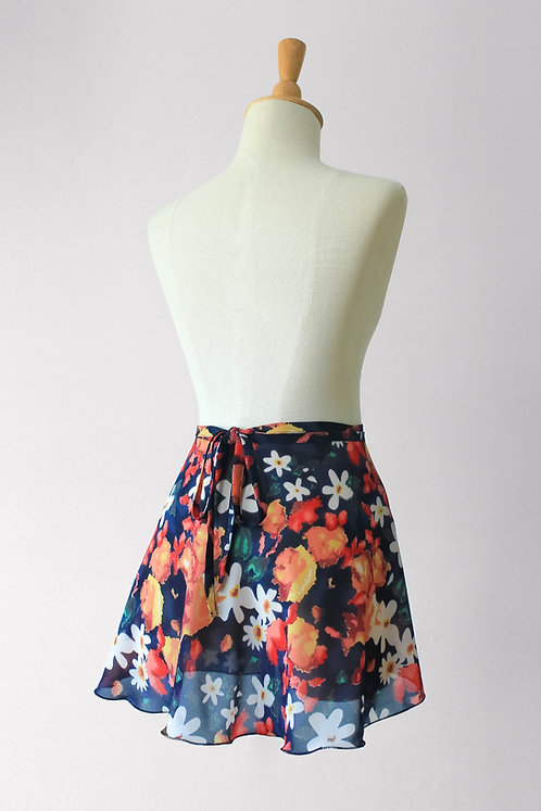 Fresh Florals Wrap Skirt