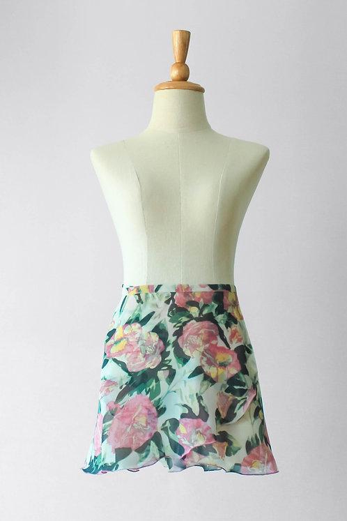 Peony Wrap Skirt