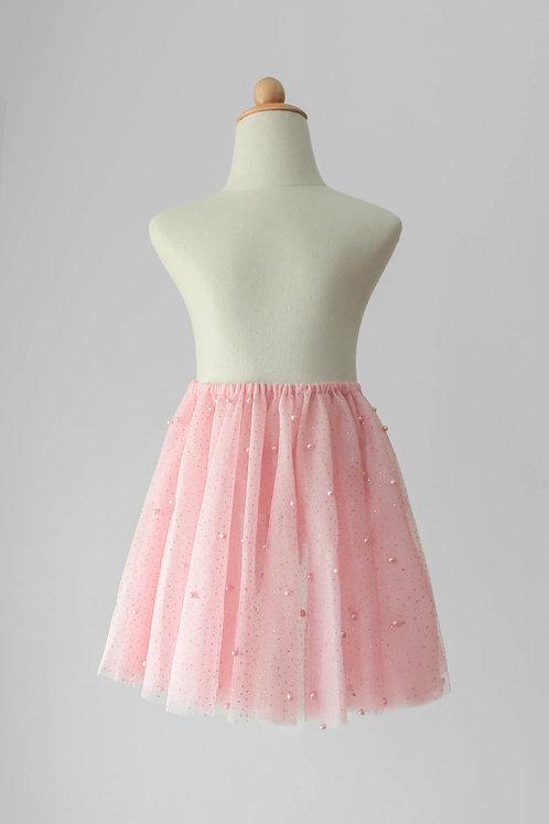 Pearls Pull-On Skirt
