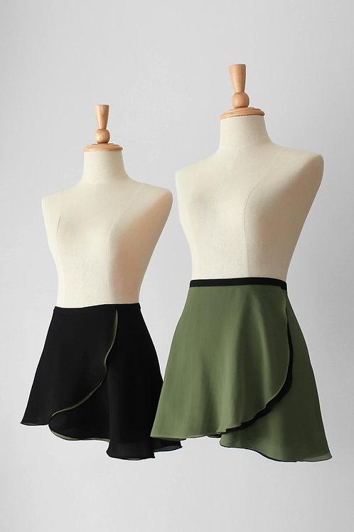 DUO Reversible Wrap Skirt