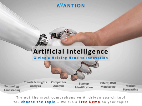 Artificial Intelligence - AI giving a helping hand to innovation
