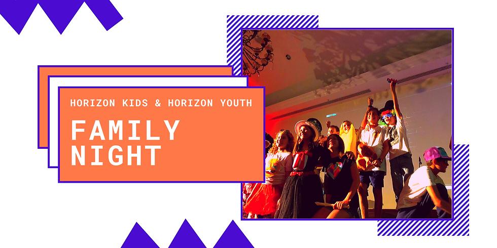 Horizon Kids & Youth Family Night