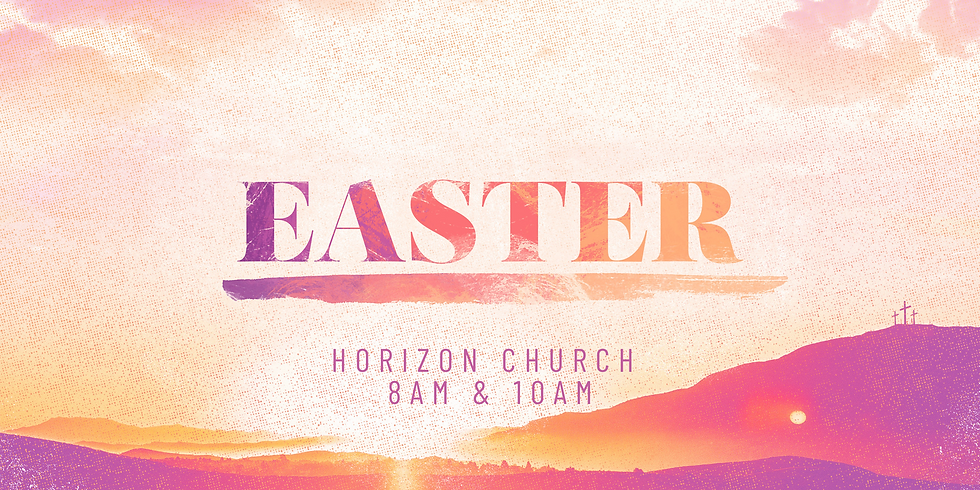 Easter Services at 8am and 10am
