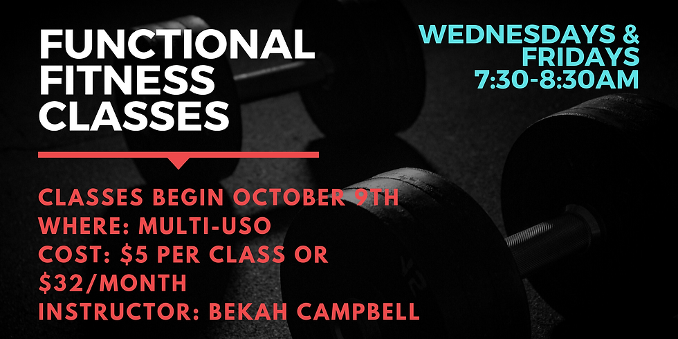Functional Fitness Classes