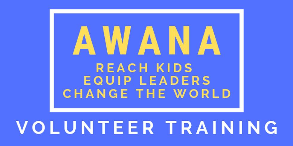 Awana Volunteer Training