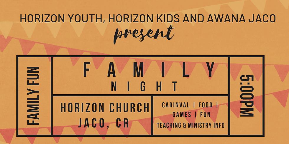 Family Night for Horizon Families