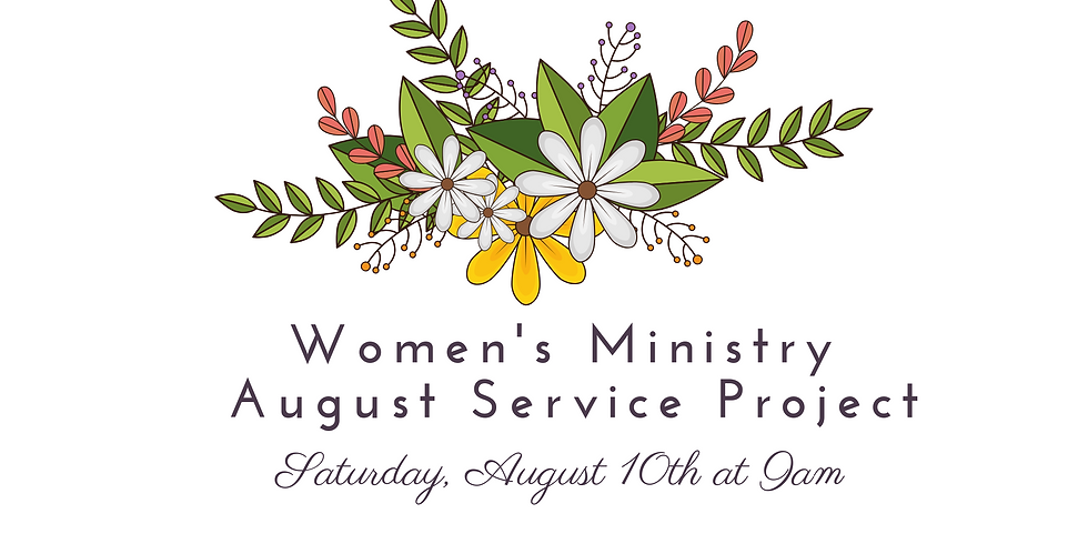 Women's Ministry Service Project