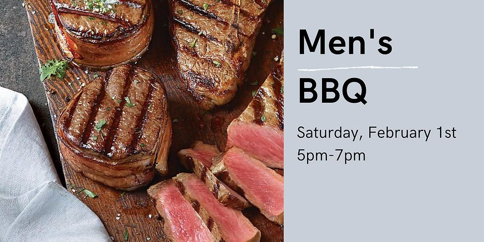 Mens' Grill Out and BBQ
