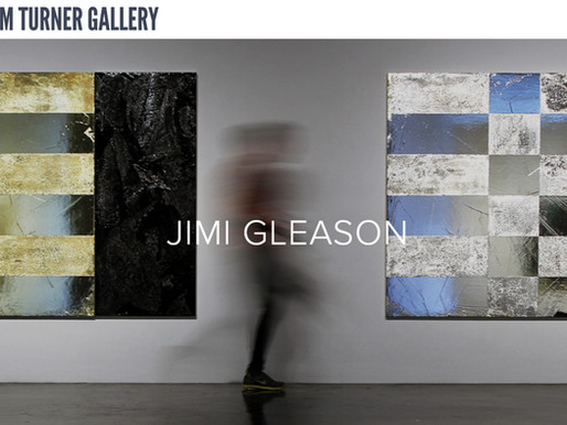 Jimi Gleason opening the William Turner Gallery
