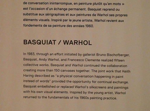 BASQUIAT & SCHIELE AT FOUNDATION LOUIS VUITTON IN PARIS
