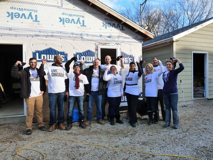 Live Here Chicago Sponsors Habitat for Humanity Chicago!