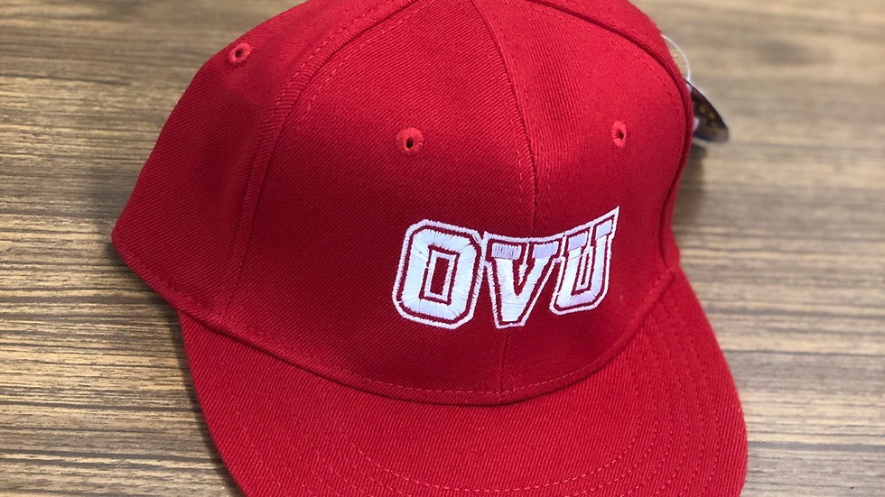 Red OVU Baseball Cap