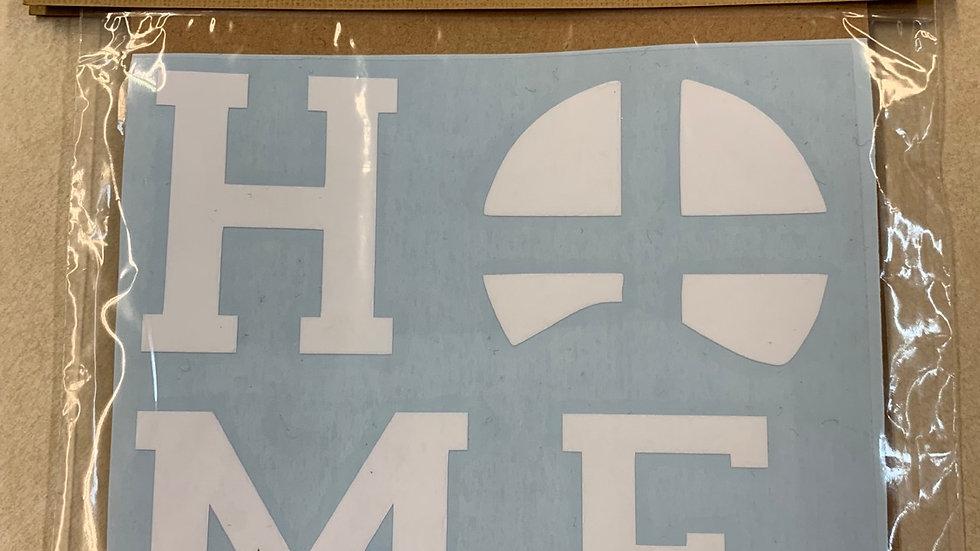 HOME Car Sticker