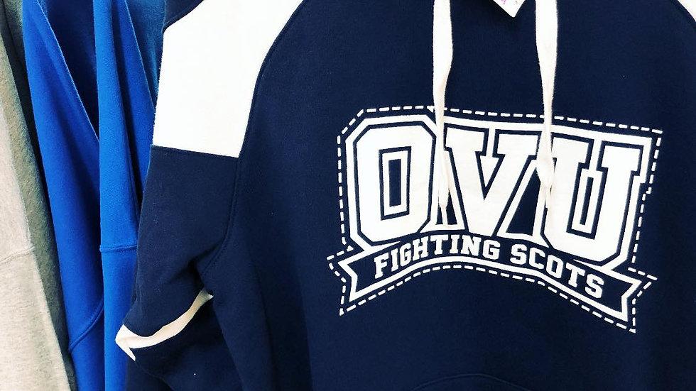 OVU Blue & White Hoodie
