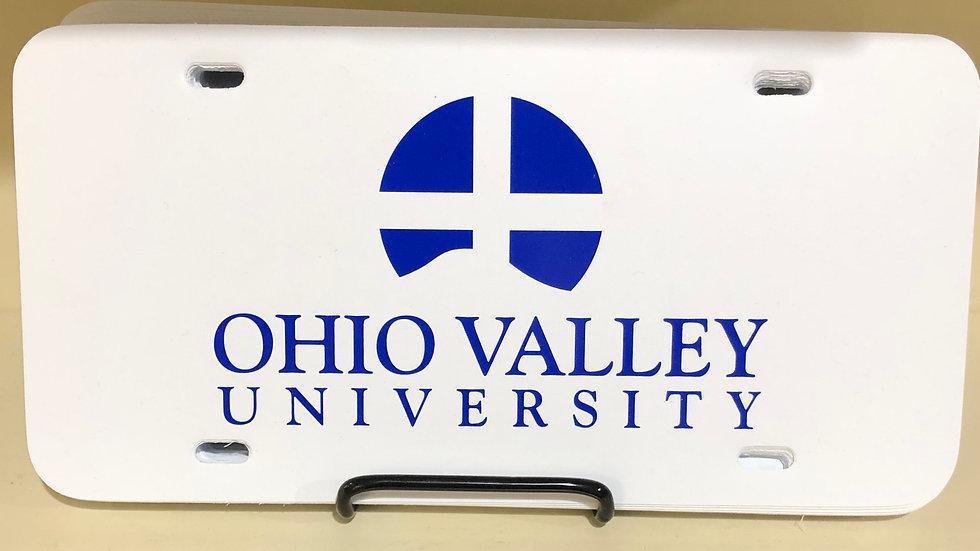 OVU License Plate