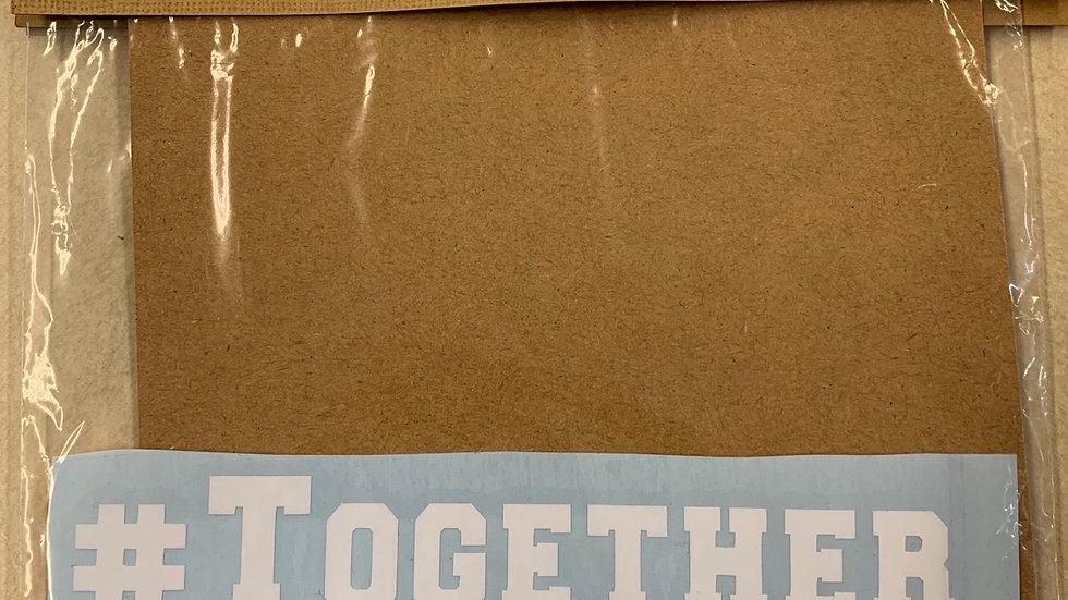 #TogetherWeAreOVU Car Sticker