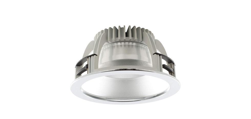 Downlight controssoffitto con Ø 220 mm 17W - Serie NF017