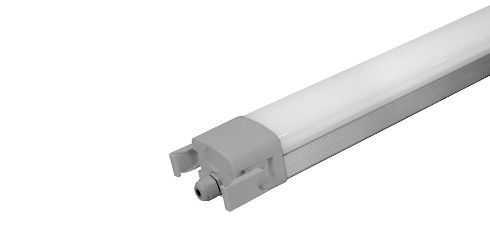 Plafoniera lineare alluminio 1500mm 60W - Serie NL060