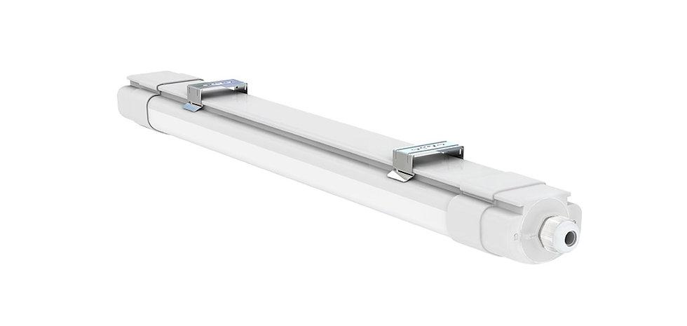 Plafoniera lineare alluminio 1.200mm 40W - Serie NP040