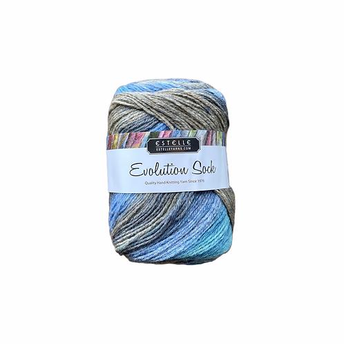 Estelle Evolution Sock - Ocean #Q41507