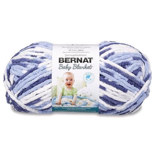 Bernat Baby Blanket - Blue Dreams #04134
