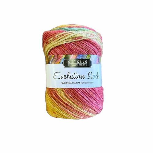 Estelle Evolution Sock - Apple #Q41503