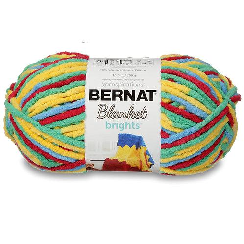 Bernat Blanket Brights - Rainbow Shine Varg #12016
